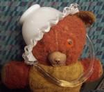 image of fenton basket on teddy bear