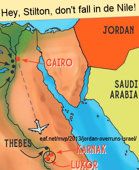 Scarab map of Middle East