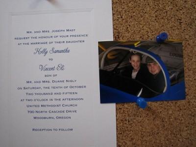 Vince Nisly & Holly Mast's wedding announcement